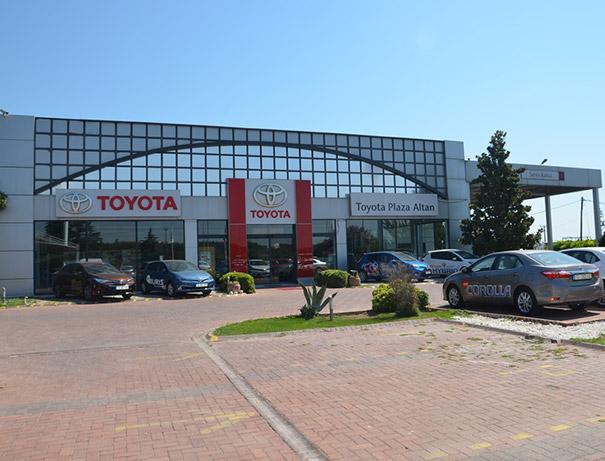 toyota plaza - altan otomotiv a.Ş.